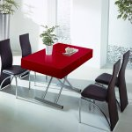 Table relevable CASSIDY RED