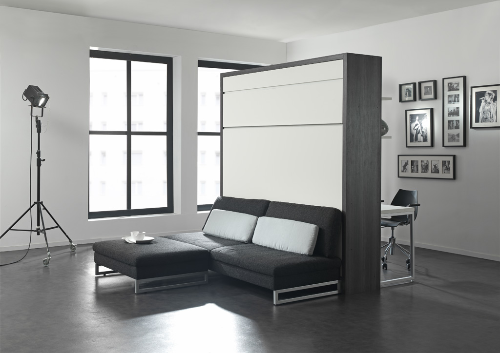 meuble lit en couchage 140 160 loft bureau magasin meublus armoire lit diffusion. Black Bedroom Furniture Sets. Home Design Ideas