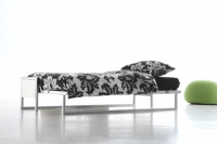 Lit escamotable horizontal en couchage 90x200 ou 140x200
